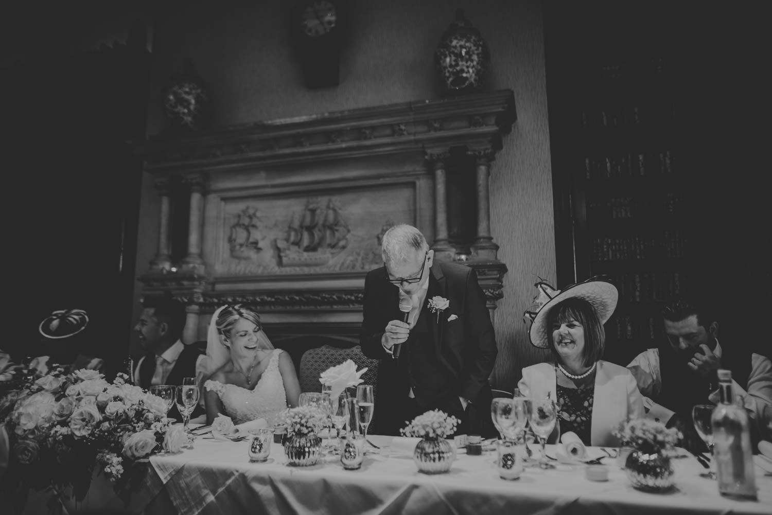 Toasts at The Elvetham Hotel