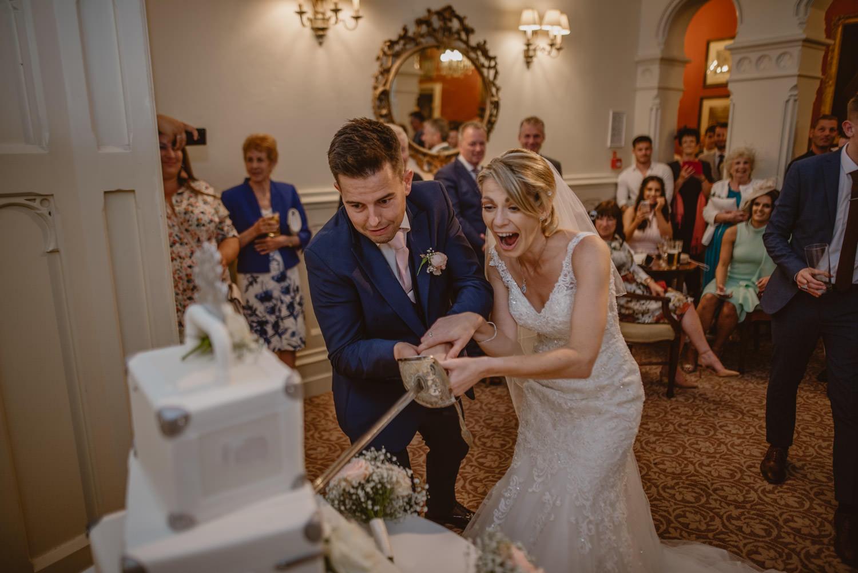 Wedding Cake at The Elvetham Hotel