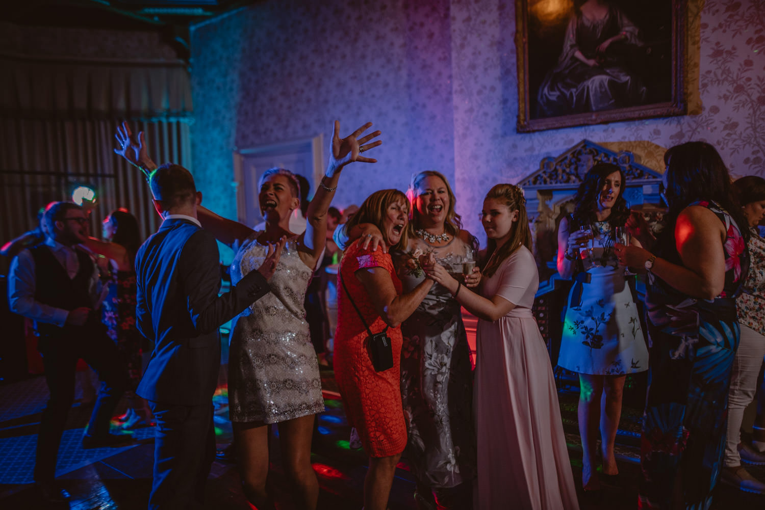 Wedding Party Pic turns The Elvetham Hotel