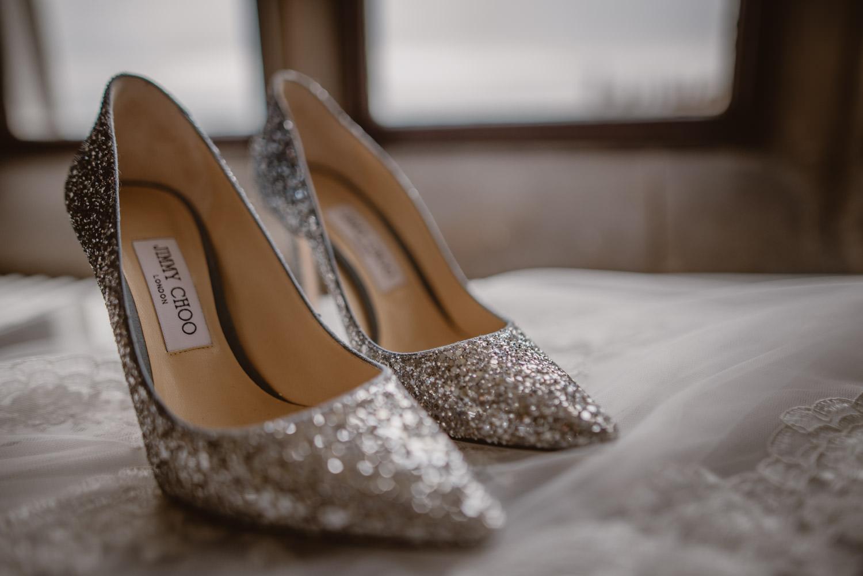 Jimmy Choo Wedding Sparkling Shoes