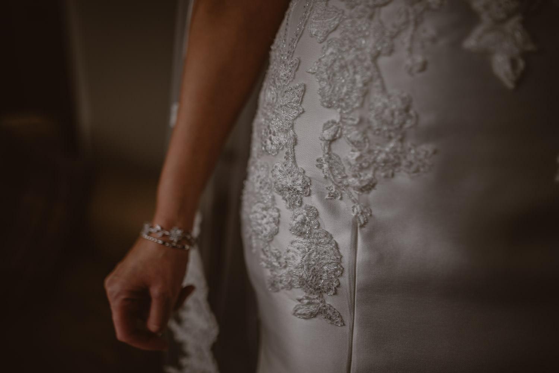 Pronovias Bridal Dress detail