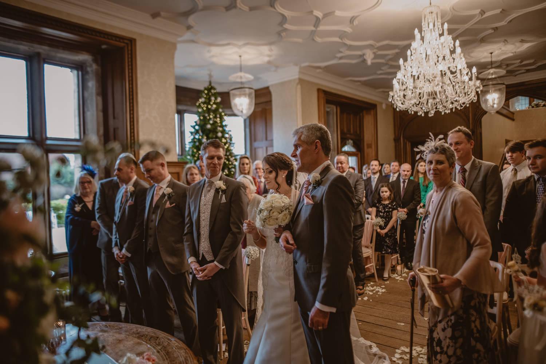 Wedding Ceremony at Froyle Park Wedding venue in Hampshire