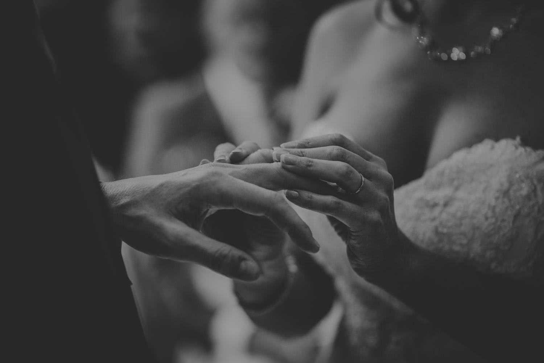 Ring Exchange in Froyle Park Wedding venue
