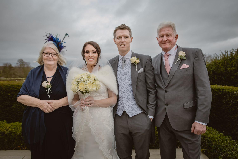 Family Wedding Formal Photo