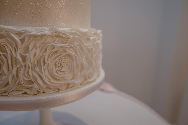 Wedding Cake detail Forever Cakes