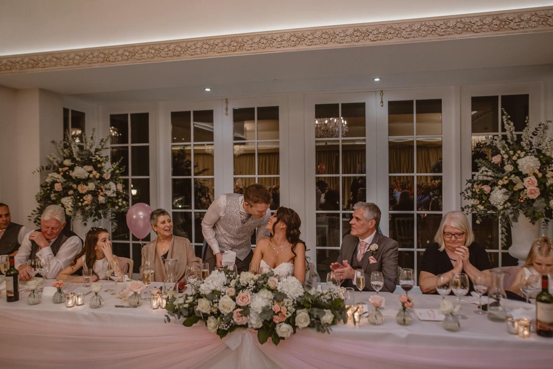 Groom Speech Wedding Photography