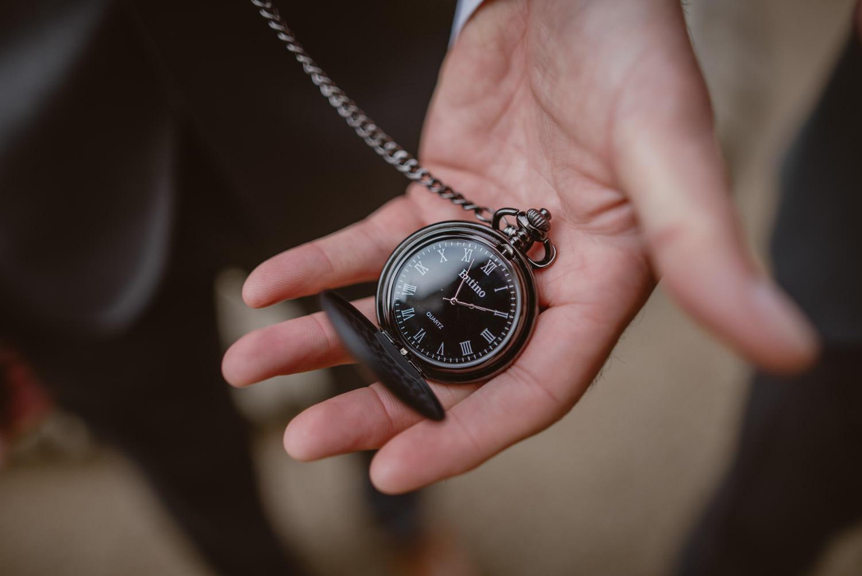 Wedding Pocket Clock