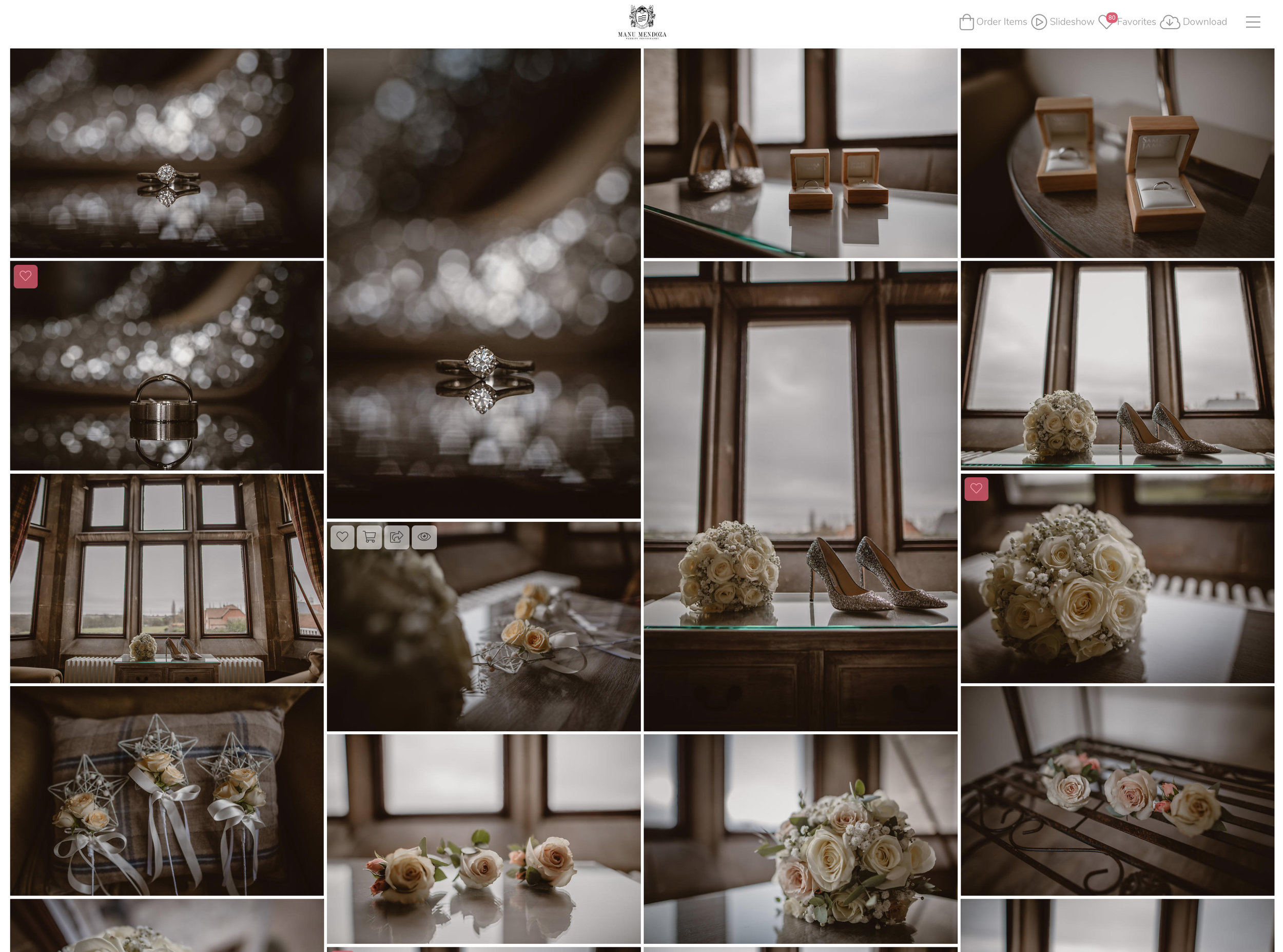 Wedding Photography Packages - Wedding Online Gallery
