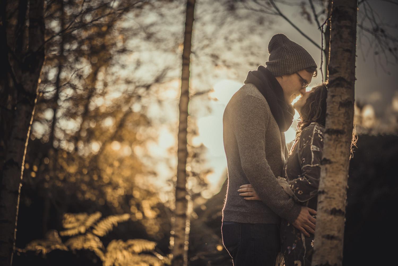 Engagement Photos at Virginia Water Lake