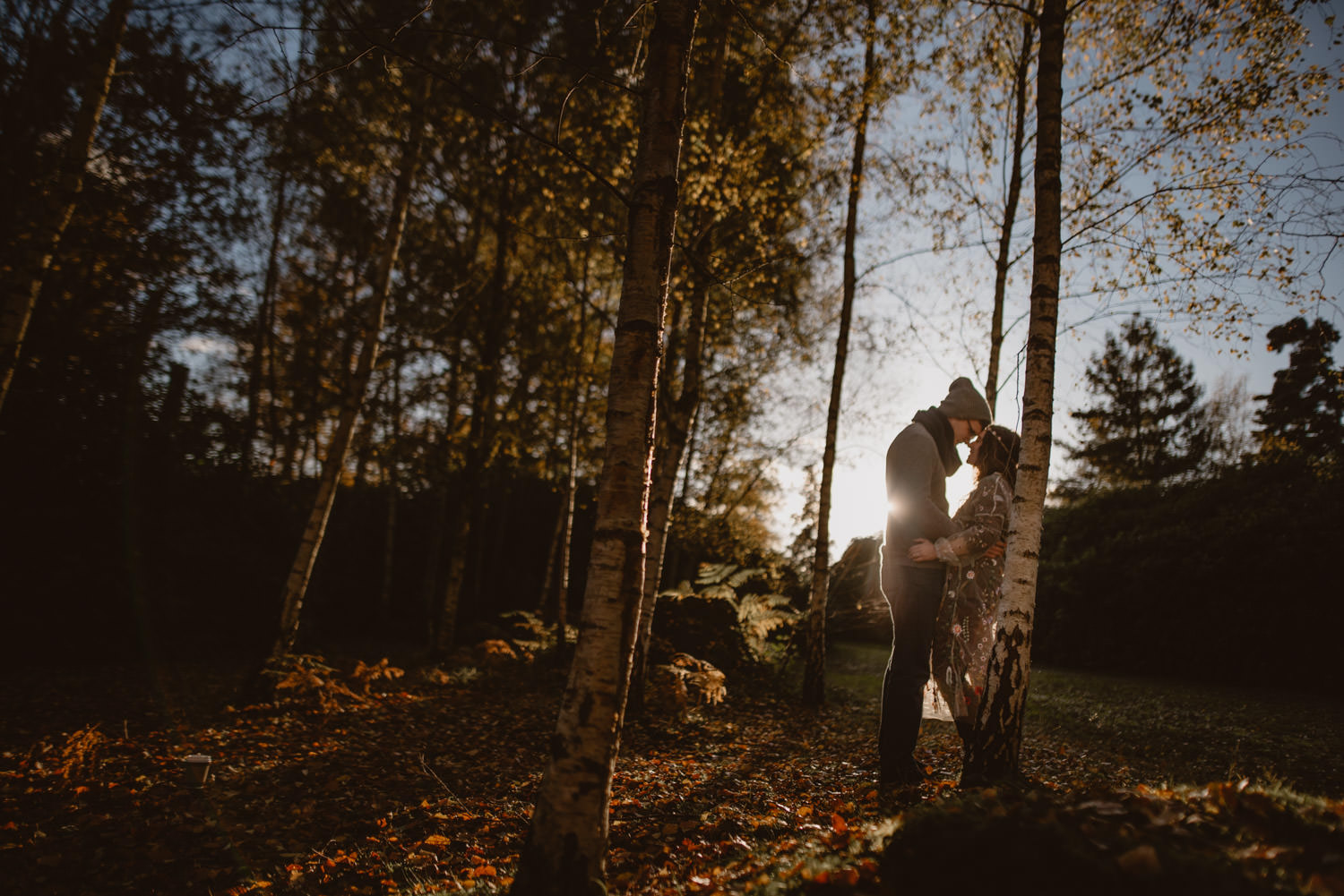 Engagement Session in Virginia Water Lake