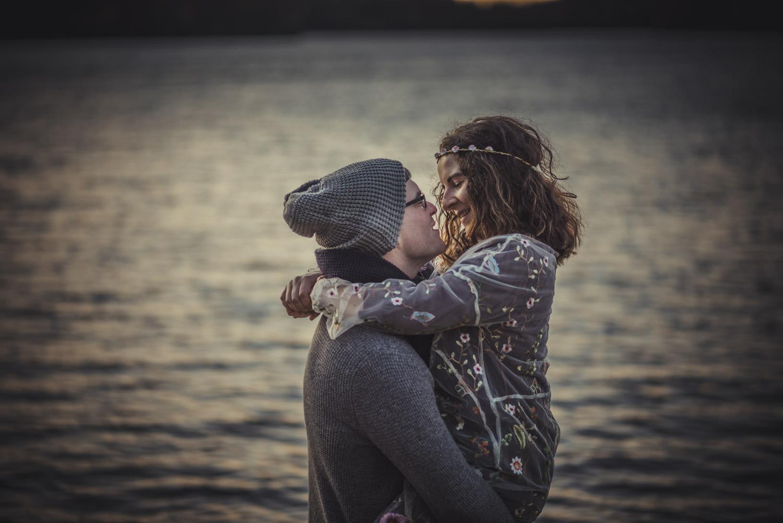 Virginia Water Lake Engagement Photography