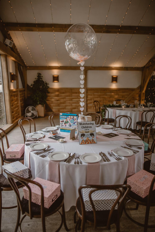 Wedding Decoration Kids table