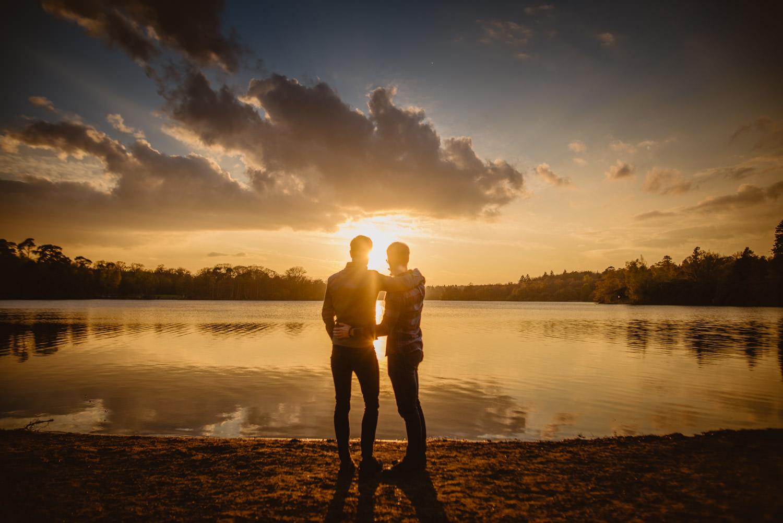 Romantic Photos in Virginia Water Lake