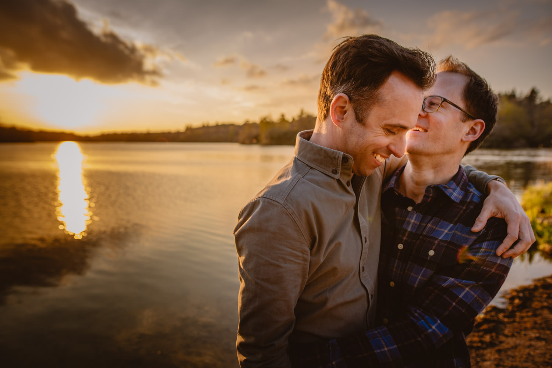 Most romantic gay wedding photos