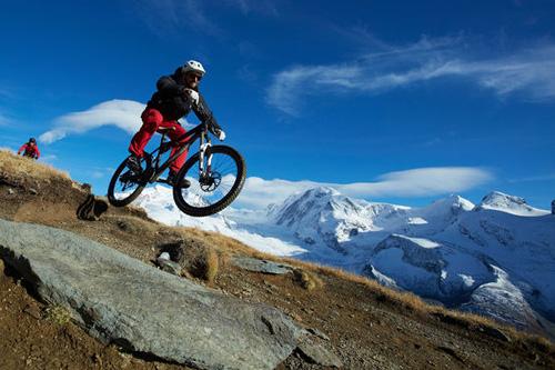 Mountain biking in the Four Valleys, Nendaz