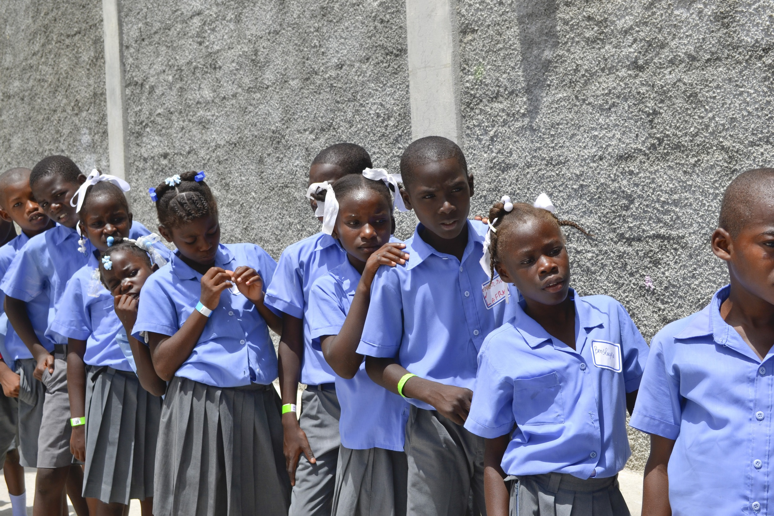 Two Uniforms Tailored to Fit Each Student