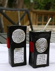 Juice Carton - walkie talkie