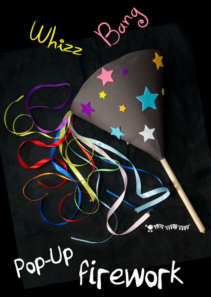 Firework Craft from Wonder Kids