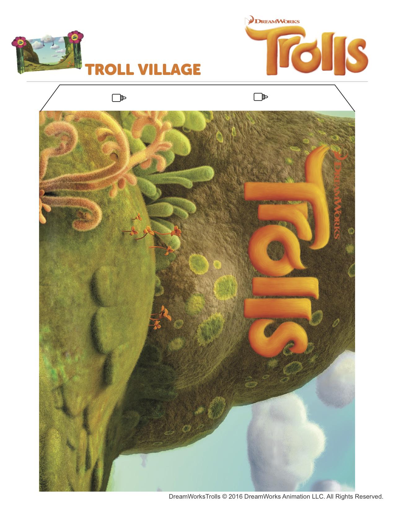 Trolls Village from Wonder Kids