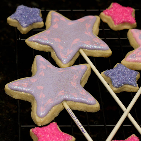 Fairy Wand Cookies from Wonder Kids