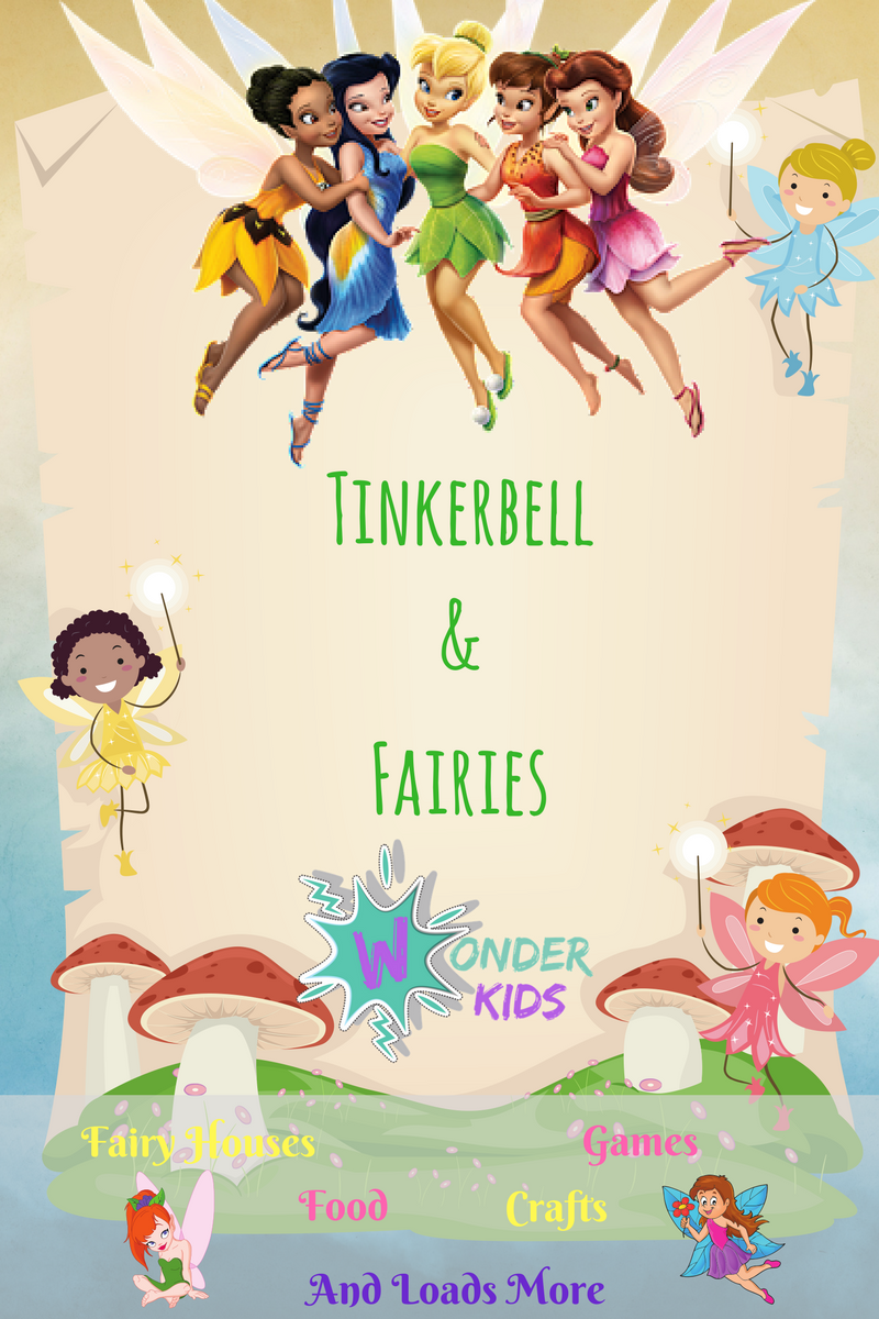 fairy party ideas from WONDER KIDS