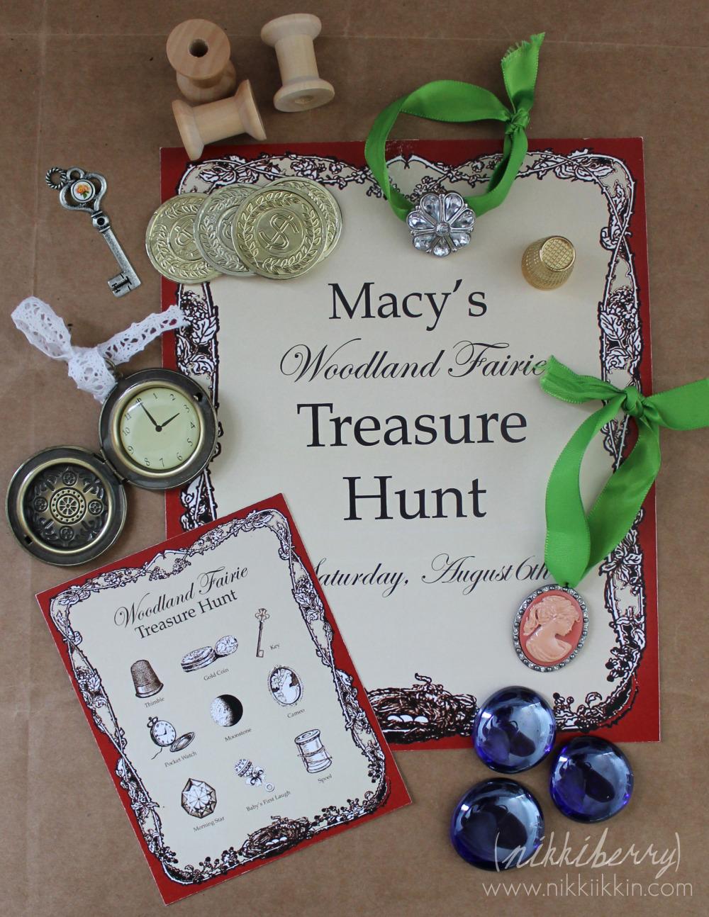 Fairy Treasure Hunt Idea