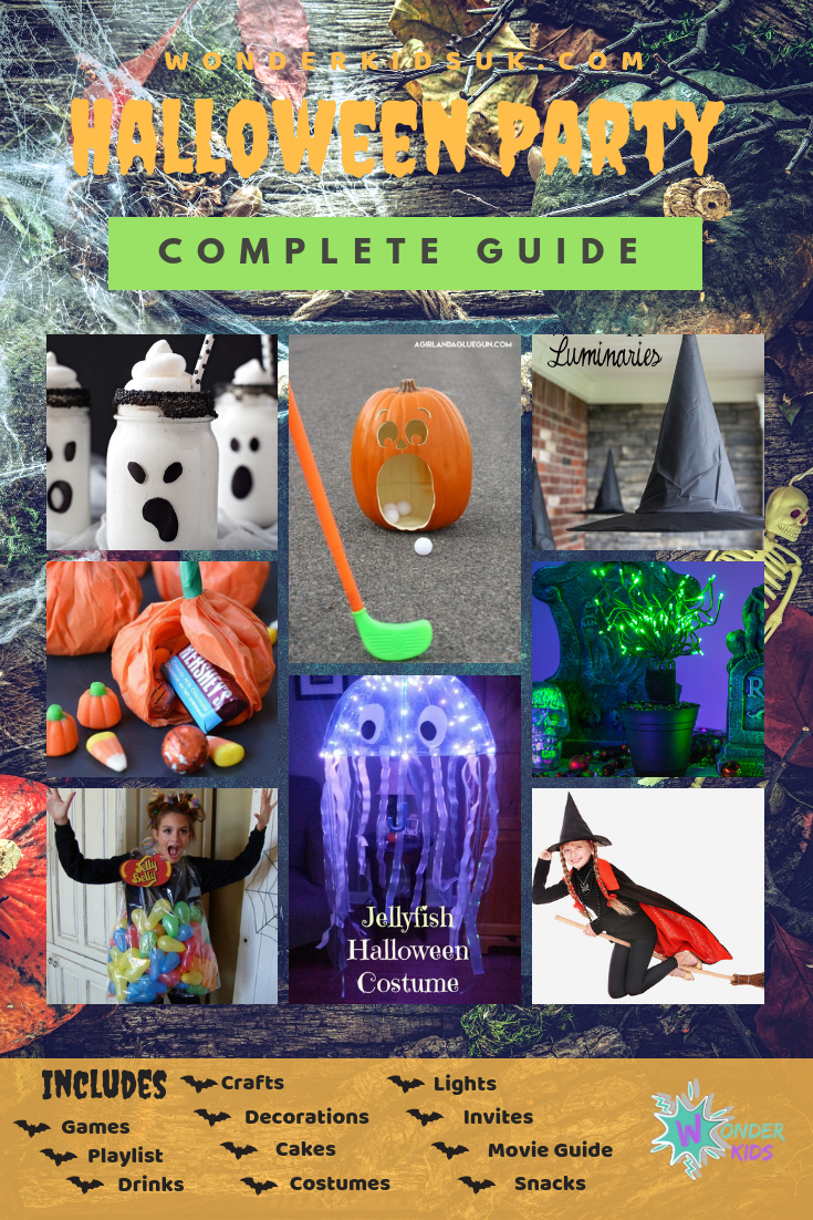 Halloween crafts from Wonder Kids