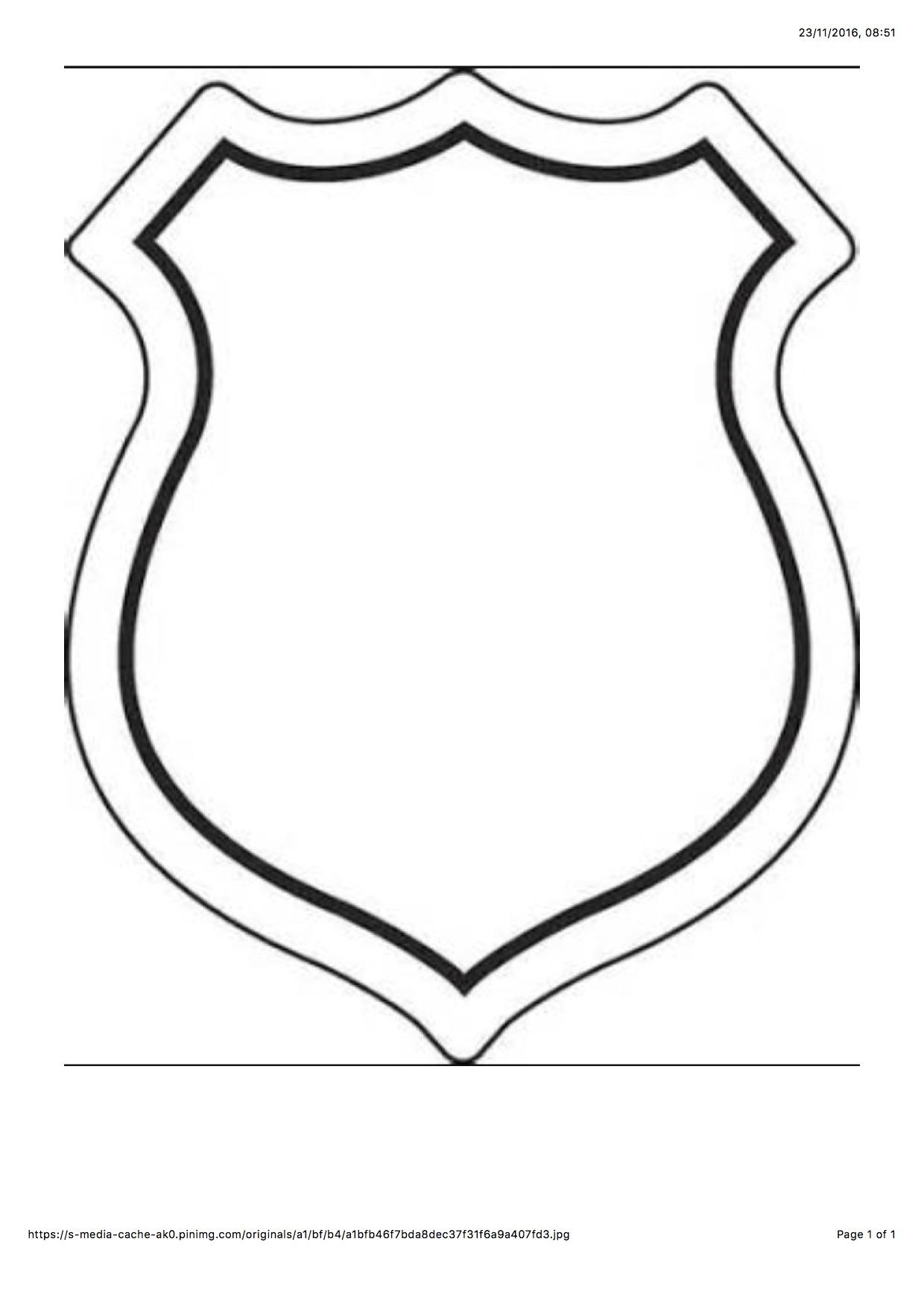 Paw Patrol Badge from WONDER KIDS
