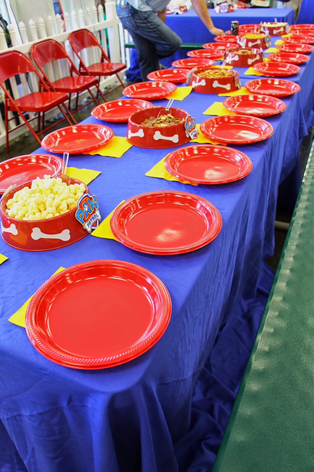 Paw Patrol Party Table from Wonder Kids
