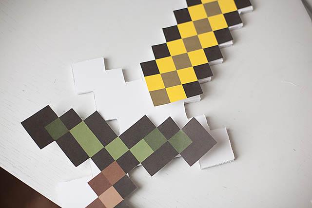 Minecraft sword 3