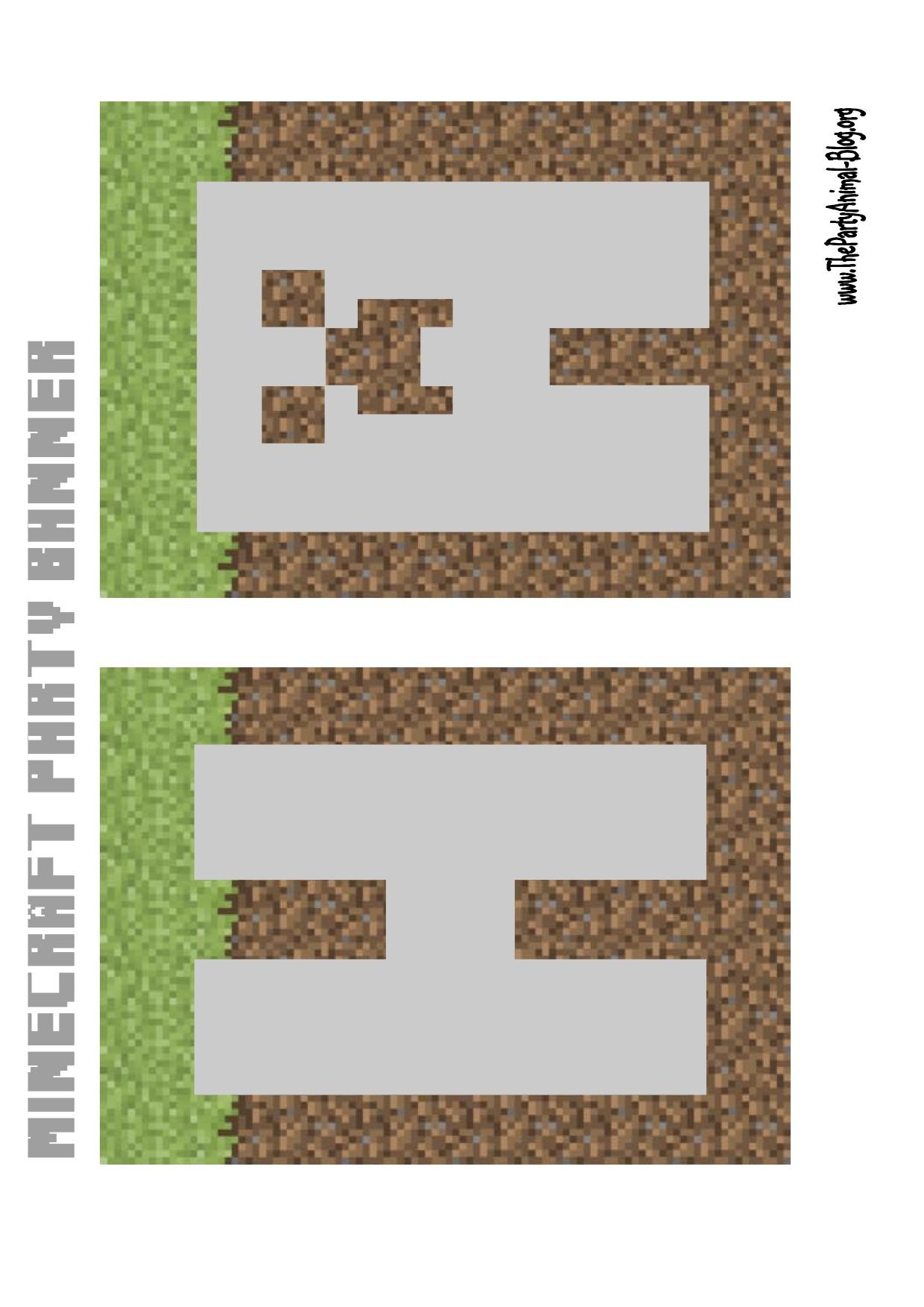 Minecraft Banner Click Here