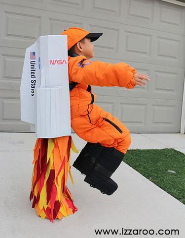 Flying Astronaut costume idea