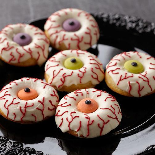 Eyeball Doughnuts