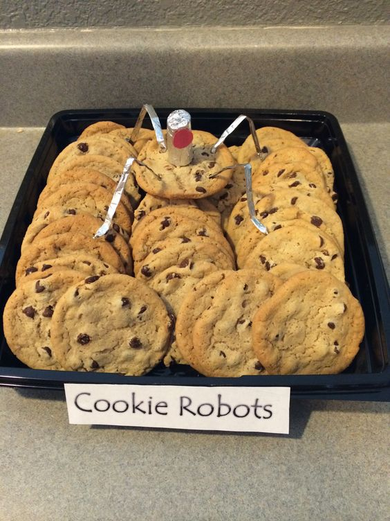 Cookie Robots from Minions