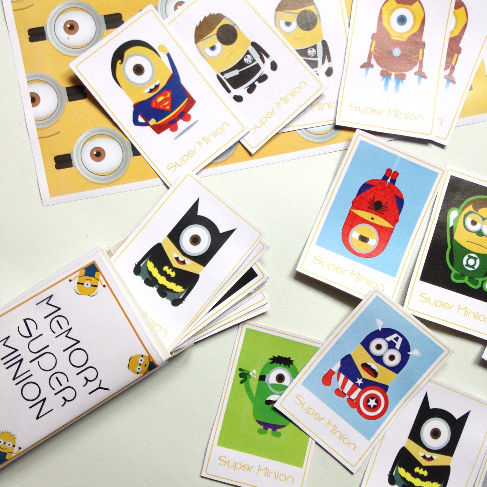 Minion Memory Game from Wonder Kids