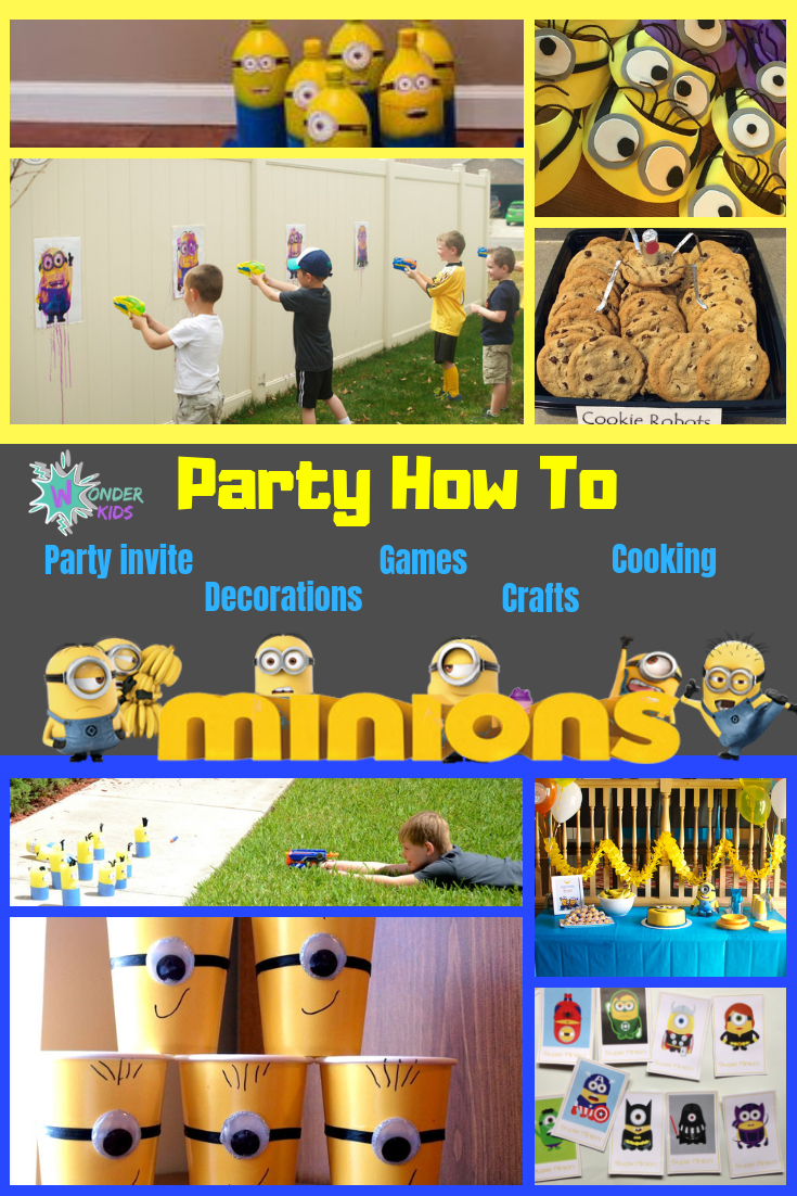Minion Party from Wonder Kids