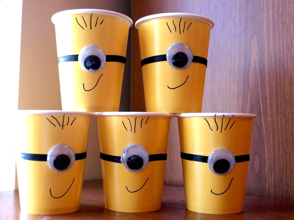 Minion Party Cups from Wonder Kids