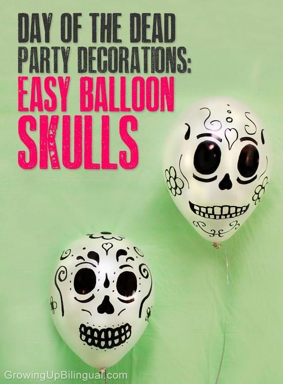 Balloon Skulls from Wonder Kids
