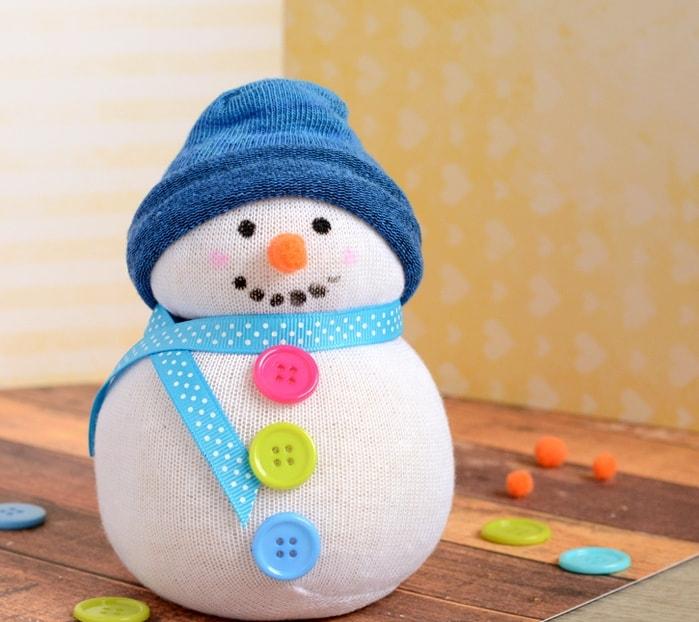 Sock Snowman from Wonder Kids