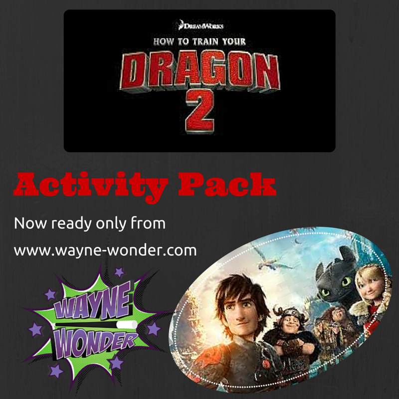 How to Train your Dragon from Wonder Kids