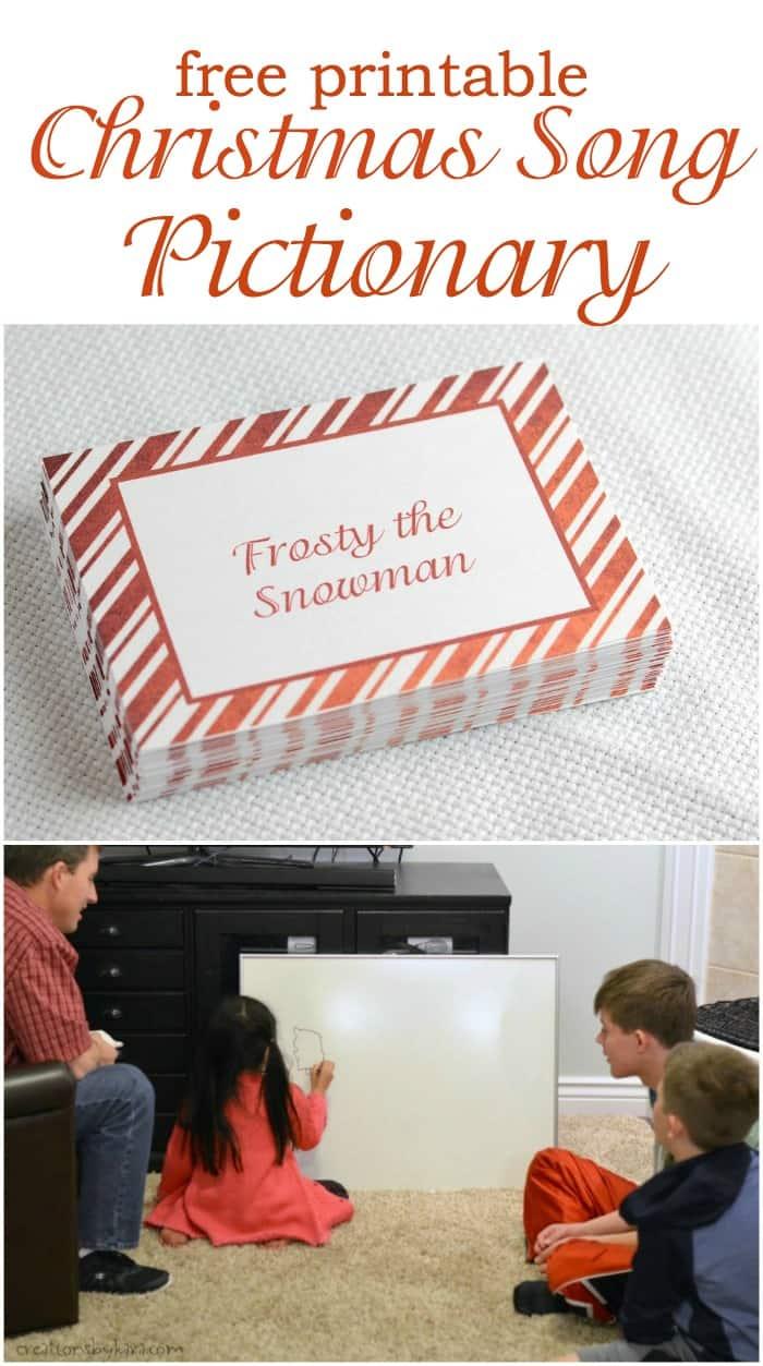 Christmas Song Game