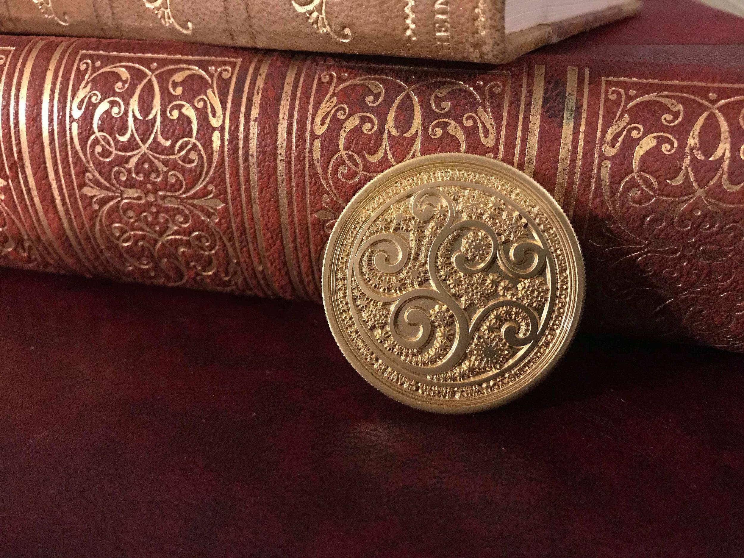 Santa Coin from Wonder Kids