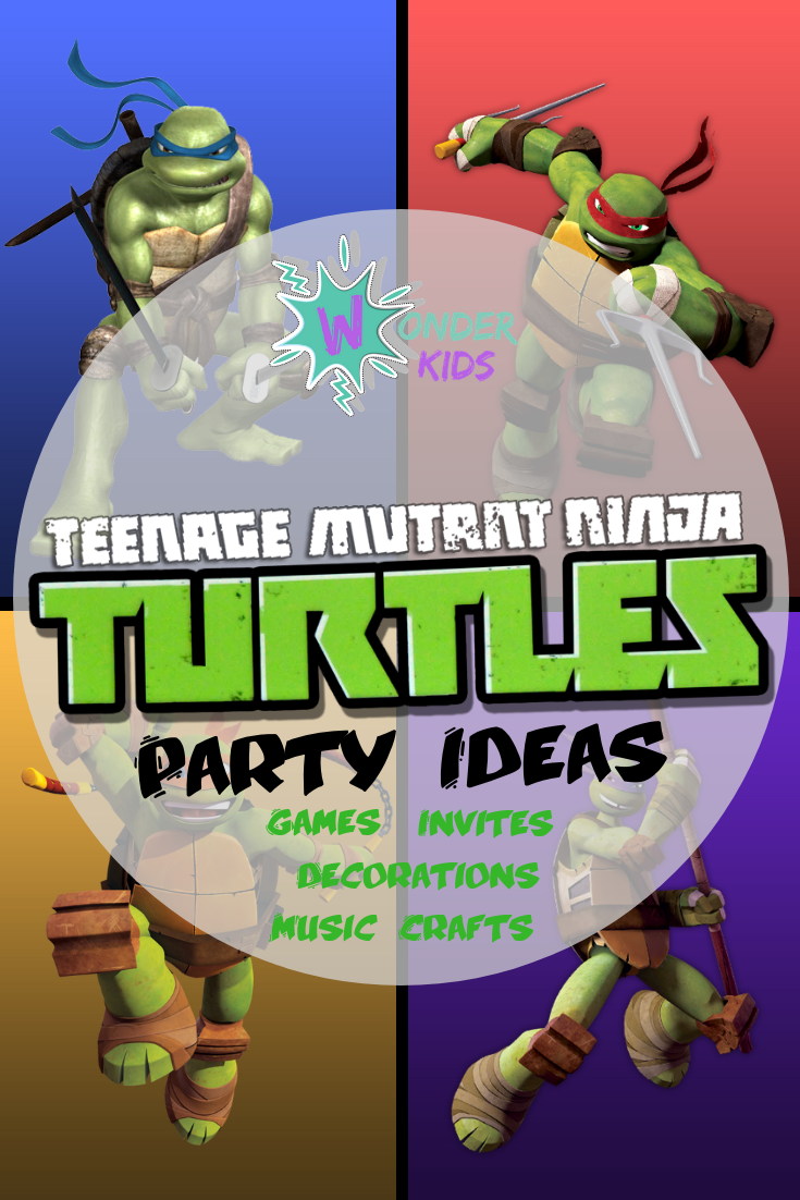 TMNT Crafts from Wonder Kids