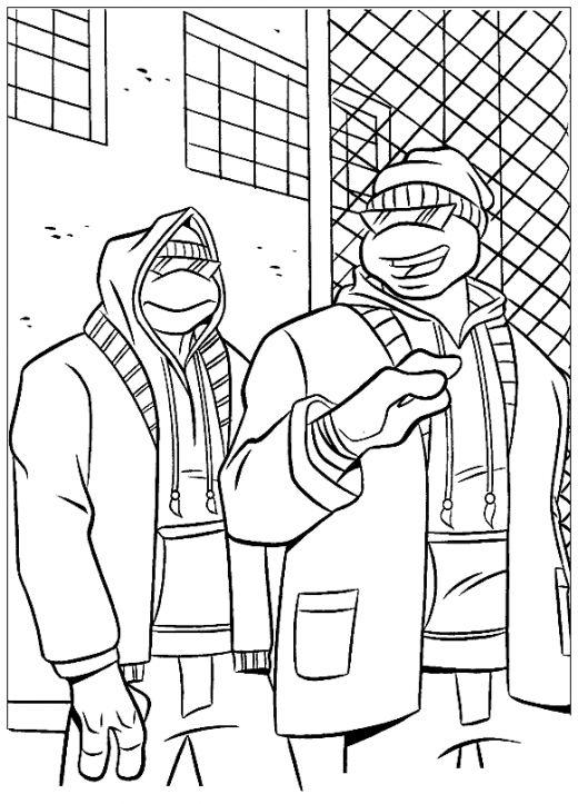 turtle craft | Turtle coloring pages, Turtle crafts, Ninja turtles ... | 723x520