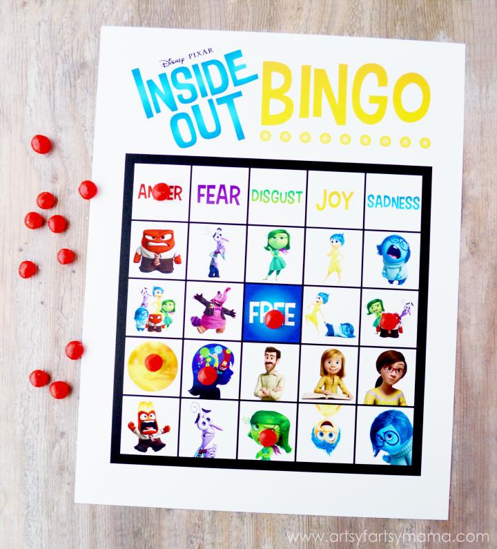 Inside Out Bingo from Wonder Kids