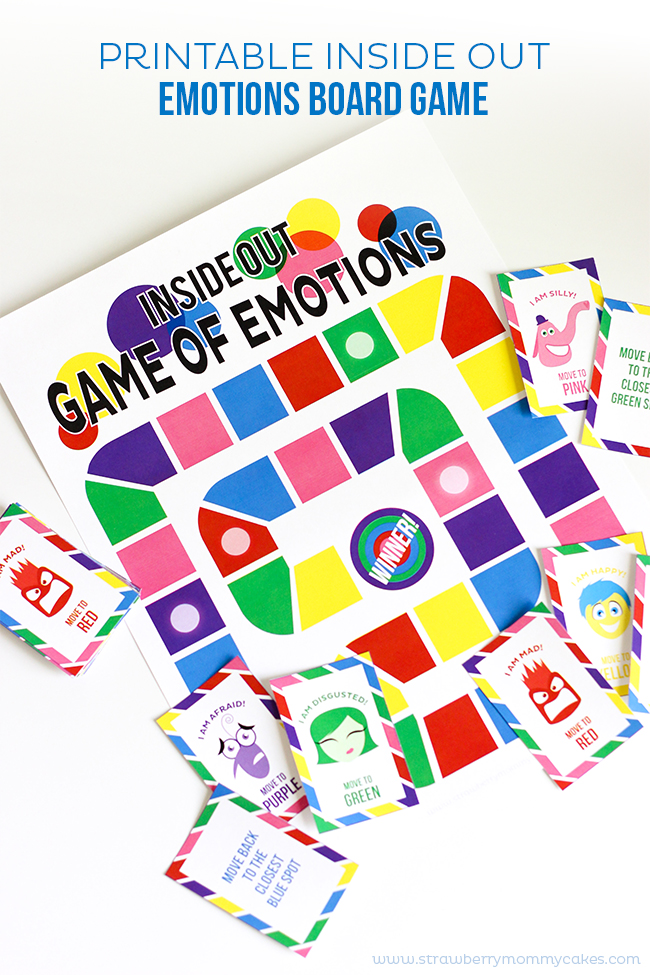 Inside Out Board Game