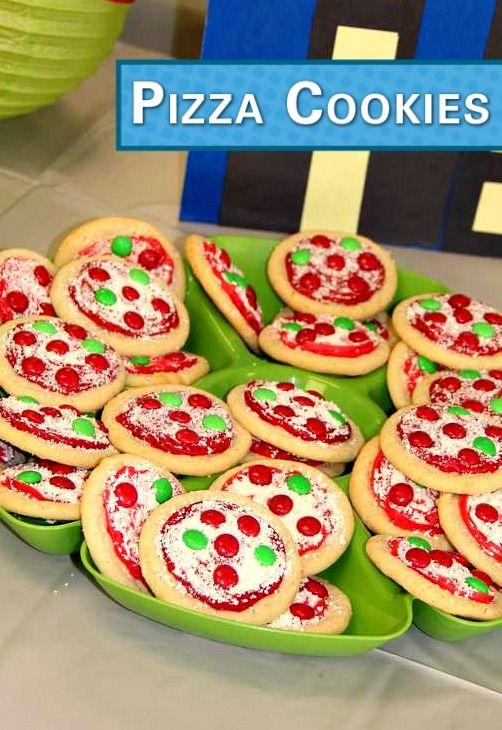 TMNT Pizza Cookies from Wonder Cookies