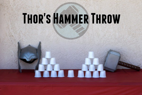 Hammer Throw game from Wonder Kids
