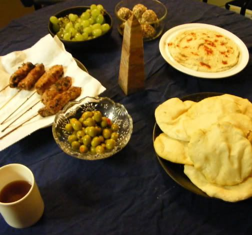Egyptian meal from Wonder Kids