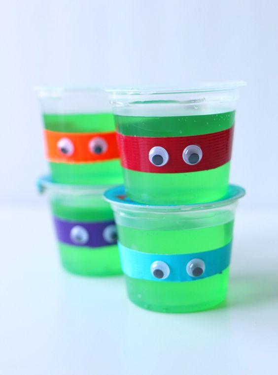 Ninja Turtle Jelly Cups